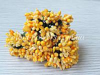 Сложные тычинки на проволоке, Желтые, фото 1