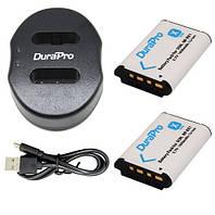 Набор: Зарядное устройство + два аккумулятора NP-BX1(аналог) для Sony