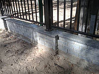 Гранитные накрывки и парапеты из гранита