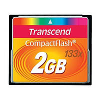 Flash карточка Compact Flash TRANSCEND 2Гб(133x)