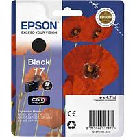 Картридж Струйный EPSON 17 XP103/203/207 Black