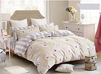 Комплект постельного белья  Bella Villa сатин евро В-0059