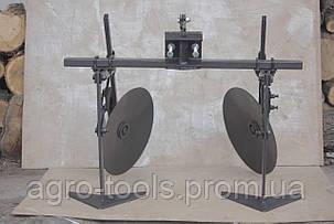 Окучник-пропольниками дисковый (диски 390 мм), фото 2