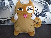 Мягкая игрушка кот Персик ВКонтакте стикер 9 разных вариантов