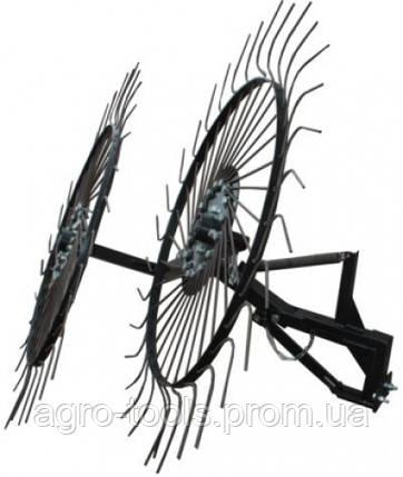 "Граблі ворушилки-сонечко великі ""Преміум"" на 2 колеса (1,2 м), фото 2"