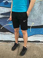 Мужские Шорты Nike черные вышивка