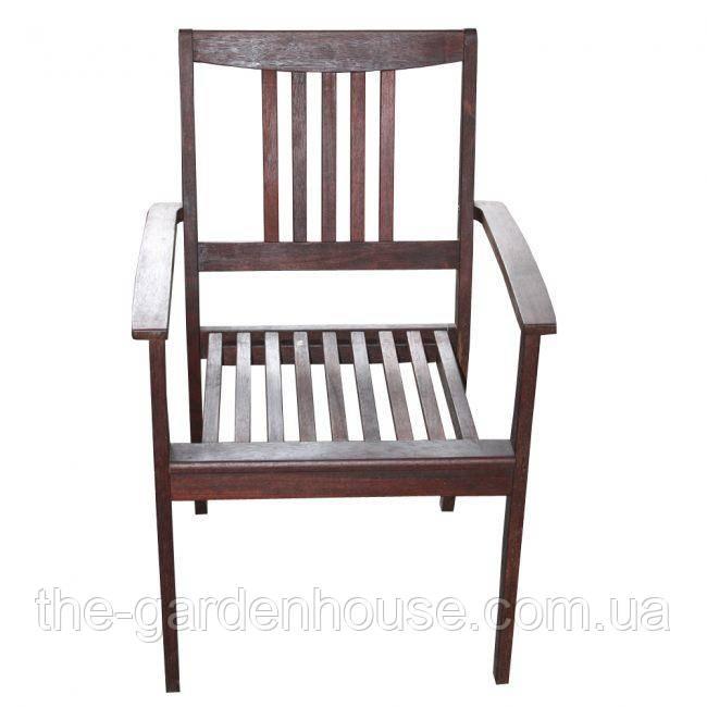 Кресло садовое Сильвервота из массива мербау