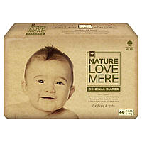 Подгузники NatureLoveMere (NLM) Original, размер M (6-9кг), 44шт.