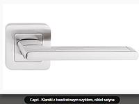 Дверная ручка  Metal-bud Capri никель-сатин