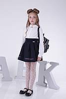 Блузка школа длинный рукав для школы