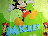 Комплект детского постельного белья МИККИ И МИННИ, ткань бязь Турция
