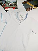 Рубашка полос белая для школы на мальчика