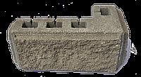 Блок колотый угловой 11х10х19х39см