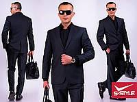 Стильный деловой мужской костюм,разные размеры