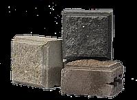 Блок колотый половинка 11х19х19см
