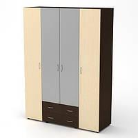 Шкаф-купе-7 в спальню 160х54х218 см. Цвет на выбор