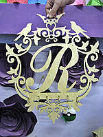 Ключница-семейный герб или монограмма