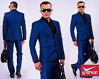 Стильный деловой мужской костюм,44, 46, 48, 50, 52, 54, 56