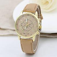 Женские наручные часы Geneva каппучино