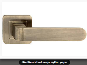 Дверная ручка  Metal-bud Rio  бронза