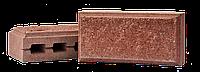 Блок колотый рваный 11х19х39см