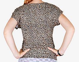Леопардовая туника (Турция) (M103) | 2 шт., фото 3