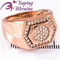 Кольцо Позолоченное Xuping «Блестящее XIX»