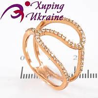 Кольцо Позолоченное Xuping «Бурное IV»