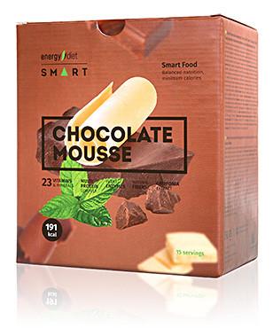 """Energy Diet Smart """"Шоколадный мус"""". Сбалансированное питание."""