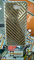 Чехол силикон Блестки Gold для Samsung J7 Prime