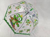 Прозрачные зонтики с веселыми рисунками № 1025 от Feeling Rain