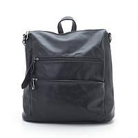 Женская сумка-рюкзак 890258 черная