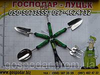 Садово-огородный инвентарь (лопатки, грабельки, разрыхтитель почвы)