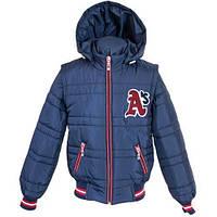 Стильная и практичная Демисезонная куртка-трансформер для мальчиков 128-152р