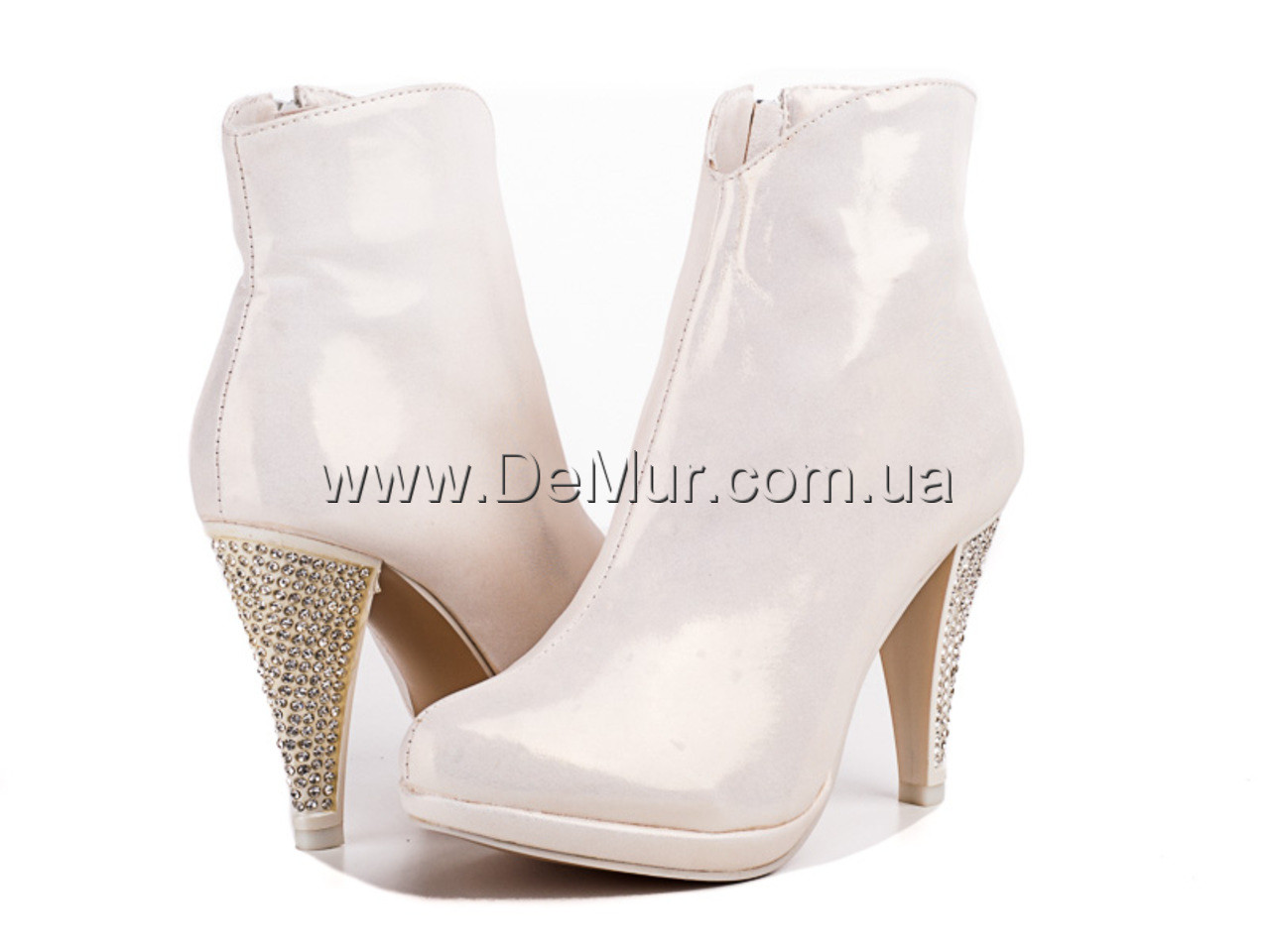 Сапоги женские (35-40) Louisa 652-B1391B cream - DeMur интернет-магазин обуви в Одессе