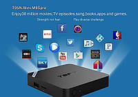 Mini PC SMART TV BOX T95N Mini M8Spro ОЗУ 2GB HDD 8GB WiFI