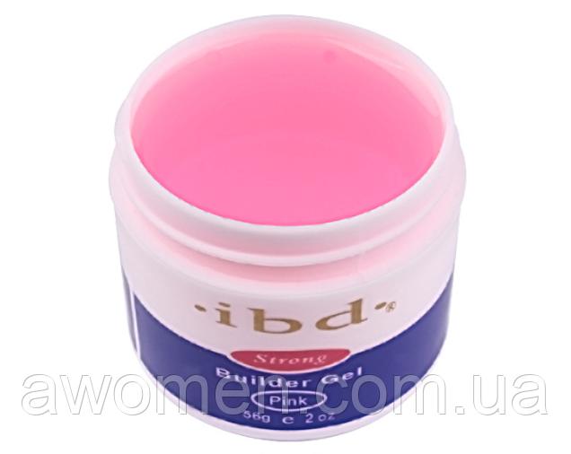 Гель для нарощування нігтів IBD UV 56g pink (рожевий)