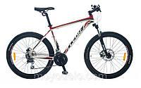 Велосипед горный LEON XC 75 (черно-красный)