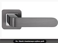 Дверная ручка  Metal-bud Rio  графит