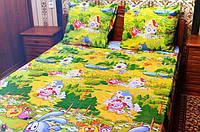 Комплект детского постельного белья СМЕШАРИКИ, ткань бязь (Турция)