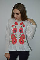 Женская блуза с баской Elisabetta Franchi, фото 1