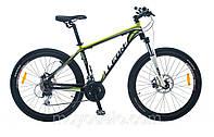 Велосипед горный LEON XC 75 (черно-салатный)