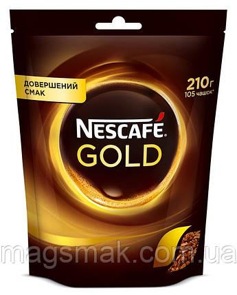 Кофе Nescafe Gold (Нескафе Голд), 210г, фото 2