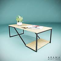Журнальний стіл лофт W, фото 1
