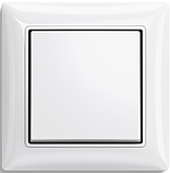Рамка 2 пост. ABB Basic 55 Белый, фото 2