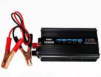 Инвертор автомобильный 1200W, Преобразователь напряжения AC/DC 1200W, Акция