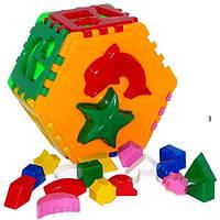 """Игрушка куб, сортер  """"Умный малыш Гиппо ТехноК"""", 2445"""