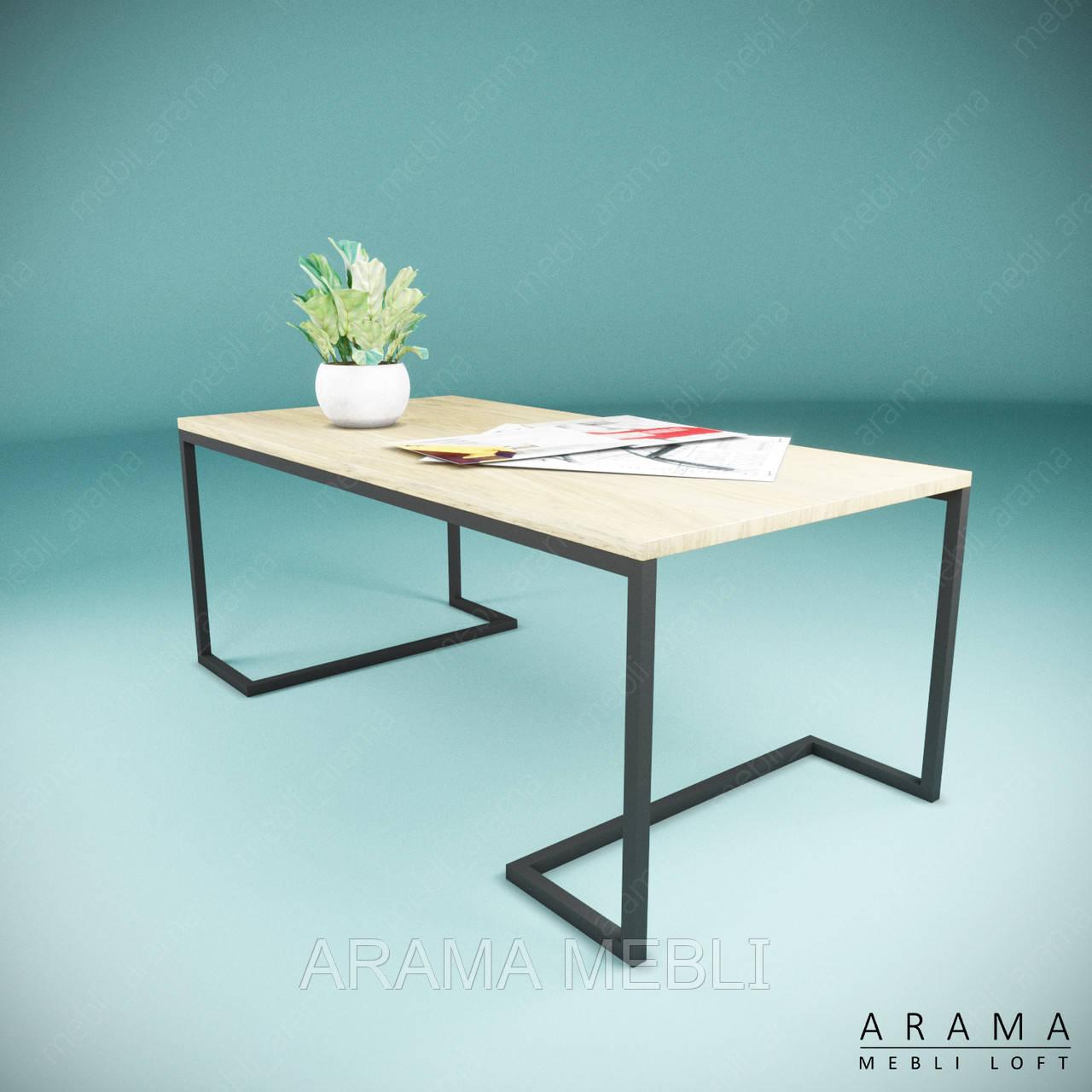 Журнальний стіл лофт Р