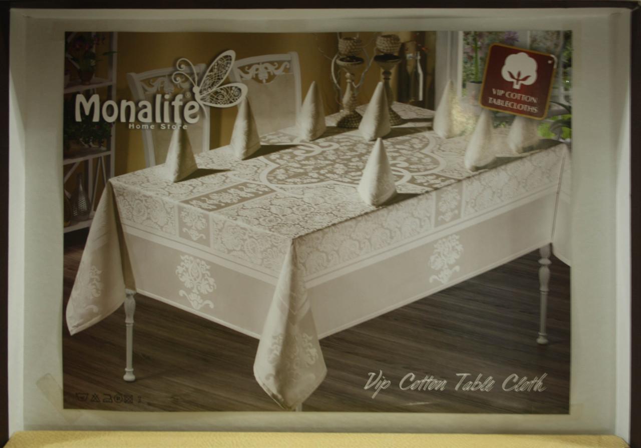 Комплект столового белья Monalife VIP cotton 160*220