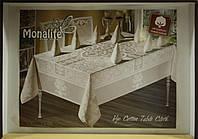 """Комплект столового белья """"Monalife"""" VIP cotton 160*220"""
